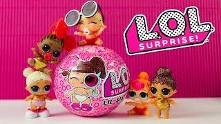 Куклы ЛОЛ ДЕКОДЕР Сестренки Новенькие в детском саду! LOL Surprise Распаковка Игрушки для детей