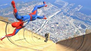 El Hombre Araña Caídas y Videos Graciosos - Spider-Man