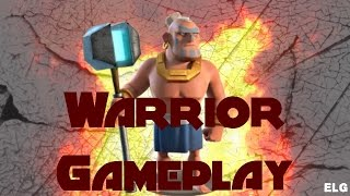 Boom Beach All Warrior Attack Gameplay - No Smoke Strategy