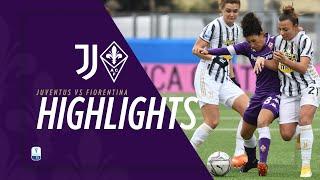 Juventus - ACF Fiorentina Femminile 2-0 | MATCH HIGHLIGHTS | Supercoppa Femminile - Finale