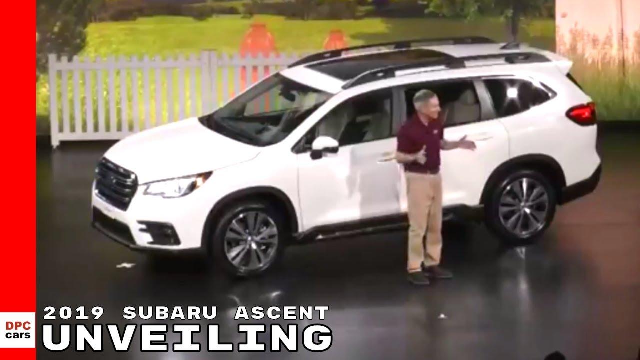 2019 Subaru Ascent Unveiling