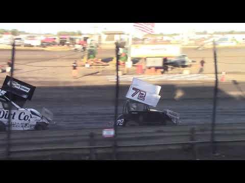 CA Speedweek, Lemoore Raceway - Micro 600R Heat Race (Carson Borden) - June 30, 2018