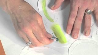 Solar System Project Using Cray-Pas Oil Pastel Blending Techniques