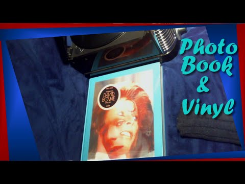 //ASMR// David Bowie Photo Book & Vinyl ~