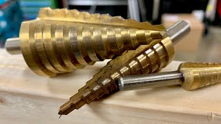 Mata Bor Pagoda Countersink 1pcs. 4mm - 20mm Baja Titanium  HSS