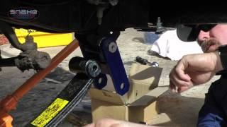 How to install Snake Racing Extended Shackles on a 60 Series Cruiser