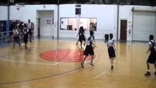 Baller'z (Hoopsters Fall Ball 2011) Start of Game Part 1