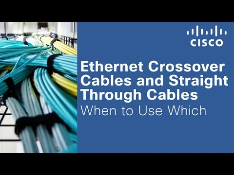 Ethernet Crossover Cables And Straight Through Cables - When To Use Which