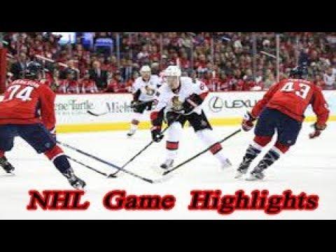 Ottawa Senators vs Washington Capitals - 29.12. NHL Highlights Season 2018-2019