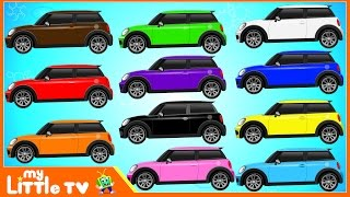 Auto Transport Truck | Colors for Children to Learn With Cars Transportation