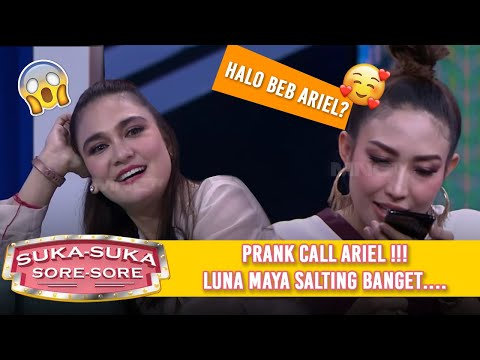 PRANK CALL ARIEL NOAH, Luna Maya Salting  - Suka Suka Sore Sore (9/1) PART 3