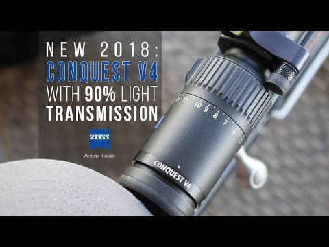 NEW Zeiss Rifle SCOPE - Guy Eastman Reviews The Conquest V4