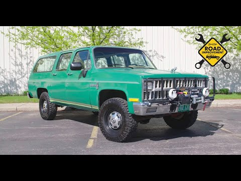 Road to Improvement Ep. 1: Meet BIG GREEN, our 1981 Chevy Suburban Project