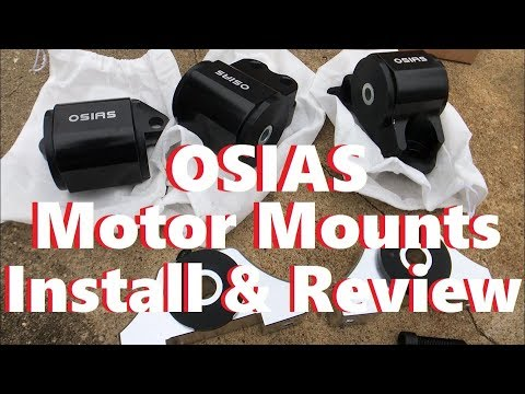 Integra Osias motor mount install and review