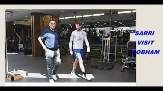 Maurizio Sarri & Jorginho In Cobham - FIRST TRAINING SESSION