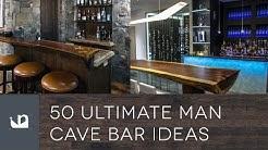 50 Ultimate Man Cave Bar Ideas