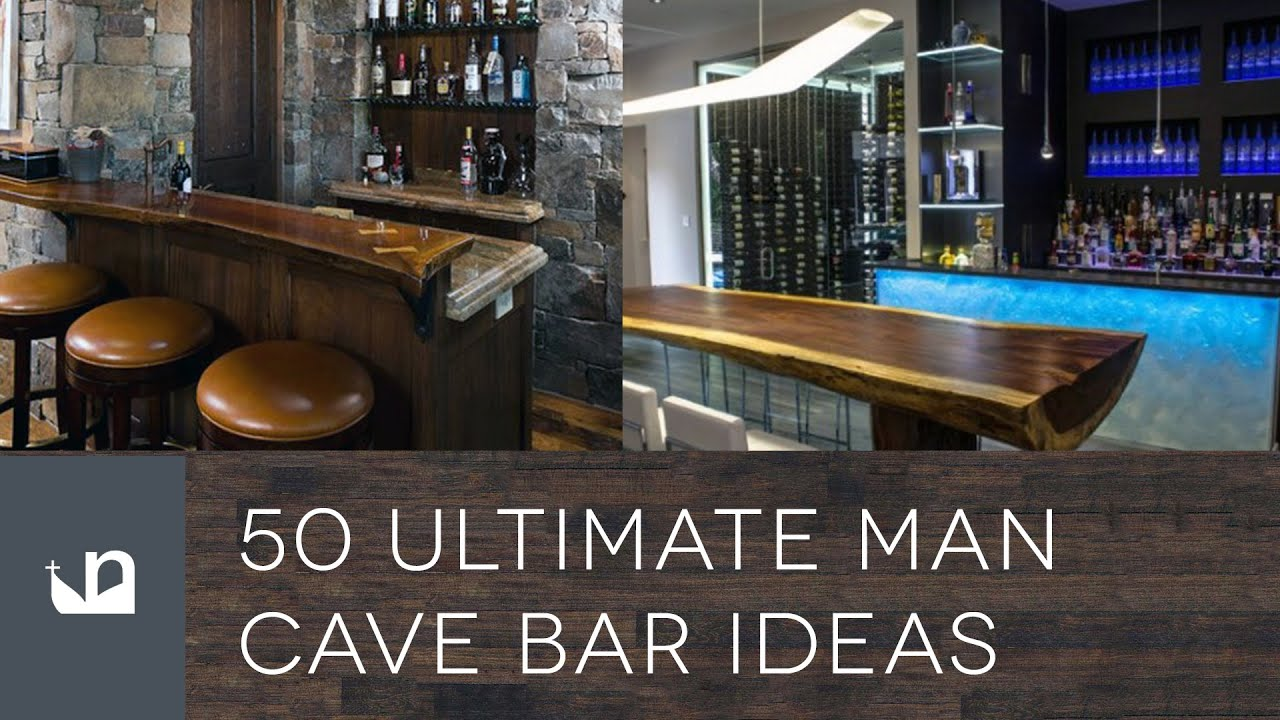 Man Cave Drinks Bar : Ultimate man cave bar ideas youtube