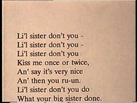"""Elvis Presley KARAOKE - """"Little Sister"""" - ORIGINAL backing track"""