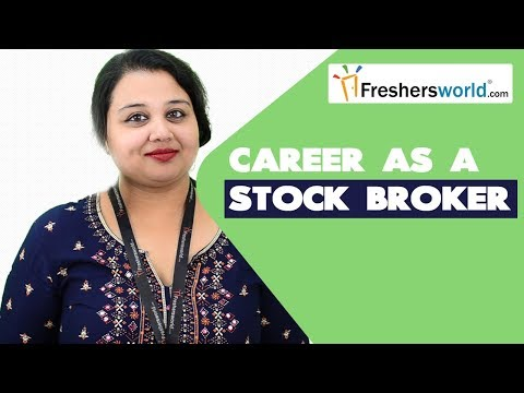 Stock Broker Degrees & Careers | How To Become A Stock Broker , Institutes