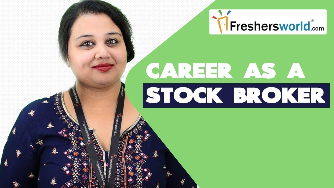 how do u become a stockbroker