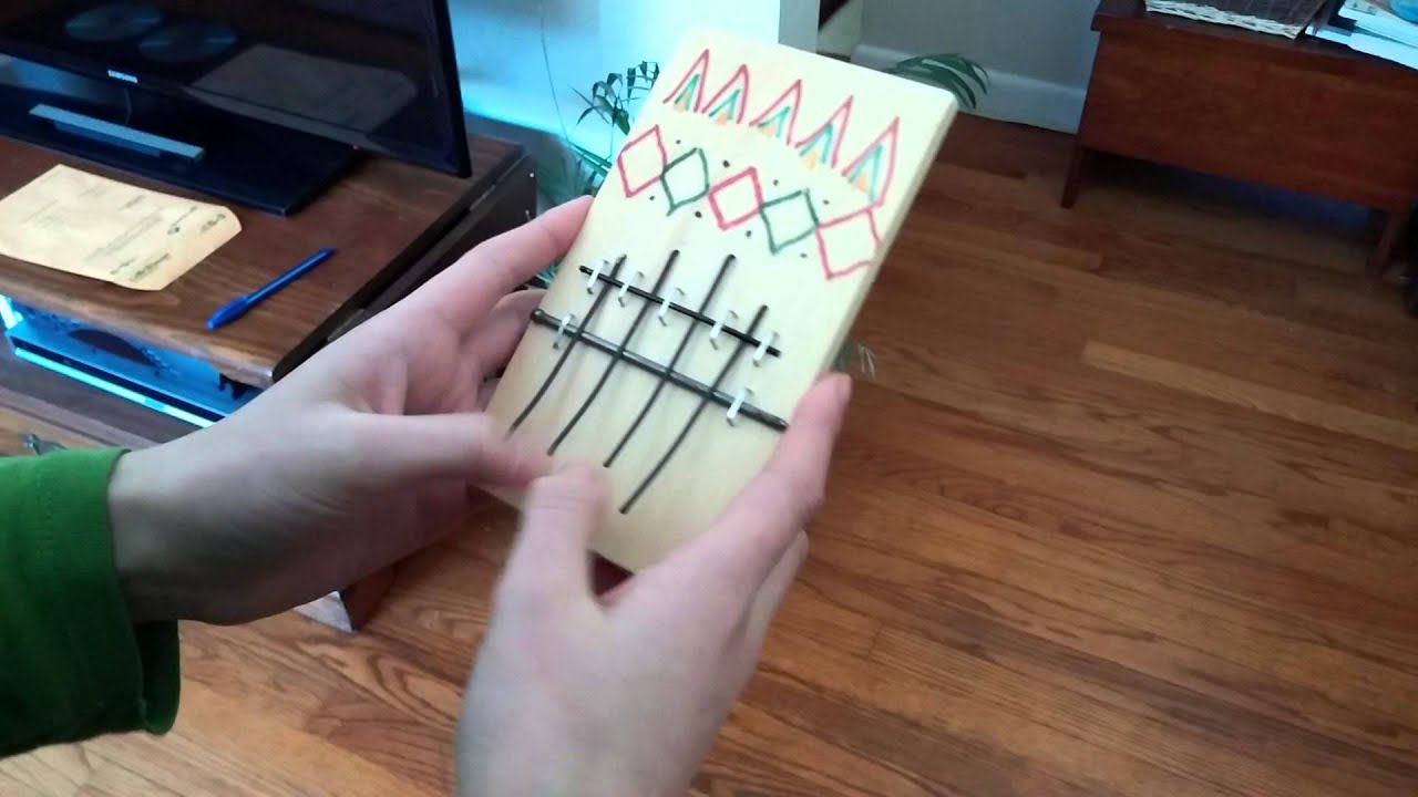 DIY Thumb Piano - YouTube