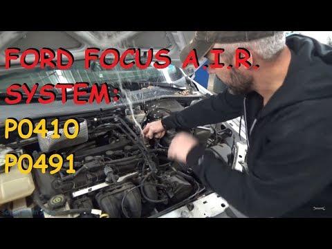 Ford Focus - SES Light / AIR Problems P0491 P0410