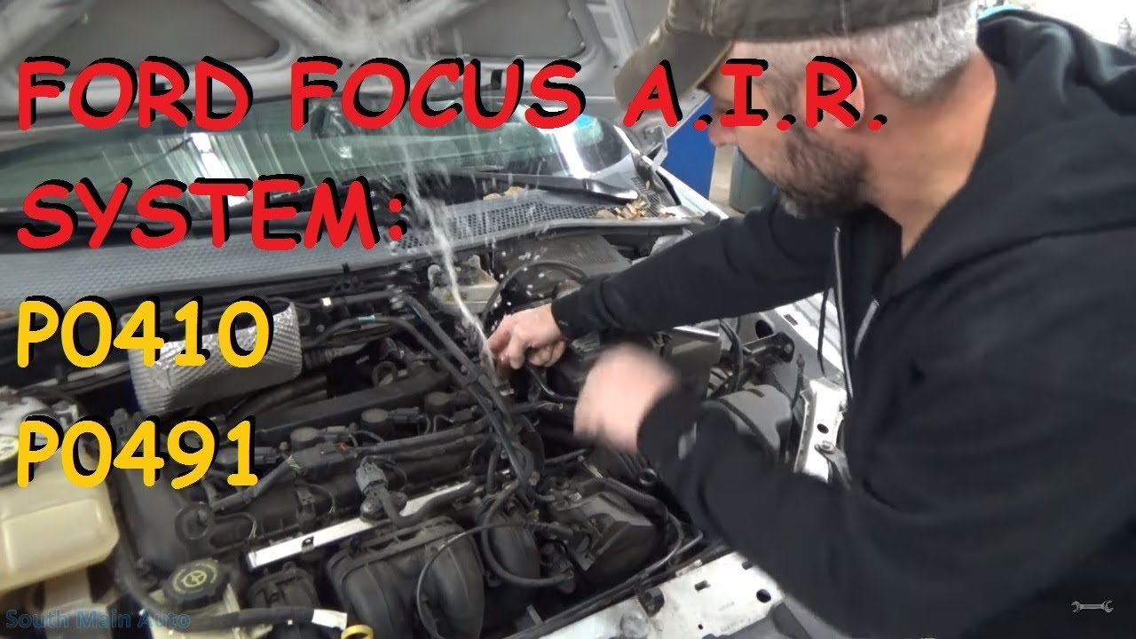 Ford Focus Ses Light Air Problems P0491 P0410 Youtube