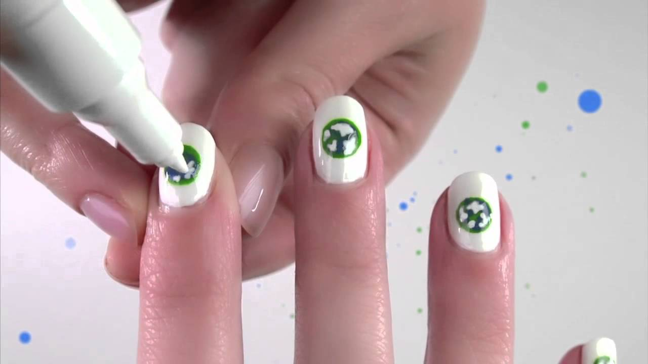 Fine World Nails Adornment - Nail Art Ideas - morihati.com