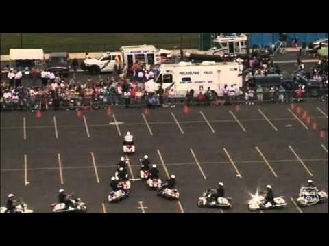 Hero Thrill Show - Philadelphia Police Department Highway Patrol Motorcycle Drill Team