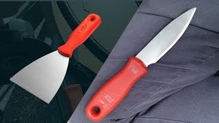 Spatuladan Bıçak Yapalım - En kolay bıçak yapım yöntemi?!