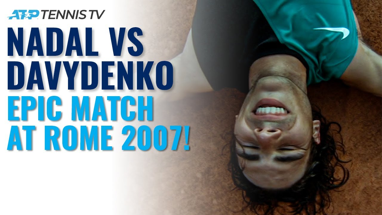 EPIC Nadal vs Davydenko Match! | Rome 2007 Semi-Final Highlights