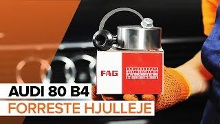 Skift Hjullejesæt AUDI 80 (8C, B4) - online gratis video