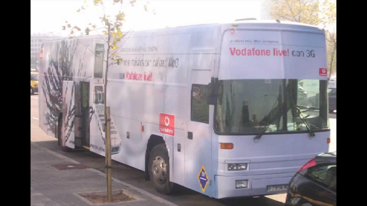 Autobus de Petaca Vodafone ( IPM3000 ideas y proyectos moviles )