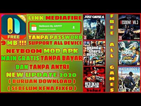 NETBOOM CLOUD GAMES MOD APK TERBARU! MAIN GRATIS TANPA ANTRI - TUTORIAL + LINK DOWNLOAD MEDIAFIRE