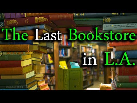 "Best Bookstore in LA: ""The Last Bookstore"" Downtown, Los Angeles - Backpacking California"