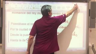 Romance del Rey Moro que perdió Alhama- Estructura Externa 2