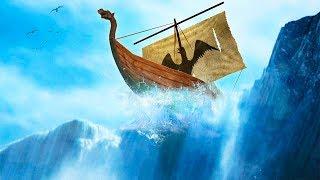 КРАЙ СВЕТА! МЫ ЕГО НАШЛИ! ЧТО НАХОДИТСЯ В КОНЦЕ КАРТЫ? ОТКОПАЛИ КЛАД НА ОСТРОВЕ В SEA OF THIEVES