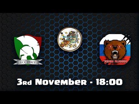 🔴 ECC ITALY VS ECC RUSSIA   Clash of Clans