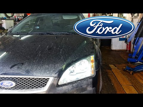 Форд Фокус 2. Замена передних стоек.