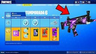 *NEW* BATTLE PASS 6! SKINS FOR WEAPONS TO ARRIVE AT Fortnite: battle royale