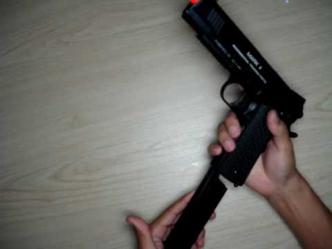 KWA 1911 MKII PTP Video Review Part 2