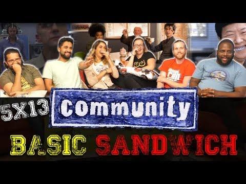 Download Community - 5x13 Basic Sandwich - Group Reaction