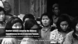 "Repeat youtube video Documentary-- ""Comfort Women – Japanese Army Sex Slaves Archives"""