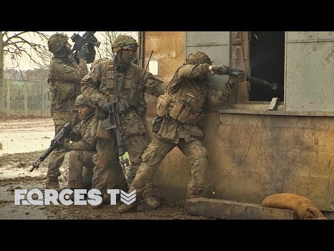 British And German Army Train Side By Side | Forces TV
