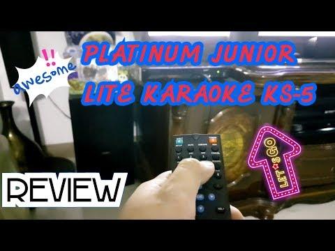 REVIEW! Platinum Junior Lite KS-5 Karaoke