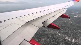 (HD) Southwest Airlines Boeing 737 Landing Runway 22L Chicago Midway International Airport