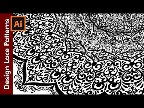 How to make seamless floral wreaths in Illustrator von YouTube · Dauer:  7 Minuten 39 Sekunden