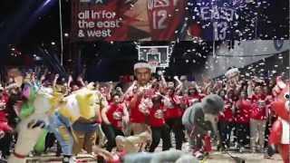 Harlem Shake at NBA All-Star Jam Session 2013!