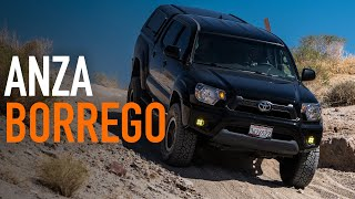 Weekend OVERLANDING In Mỳ Toyota Tacoma! California Desert Camping