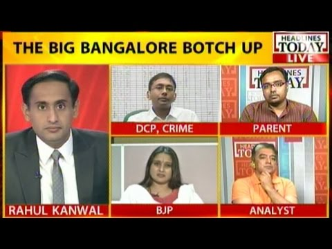 Centre Stage: Big Bangalore police botch-up. Why arrest poor Mustafa?